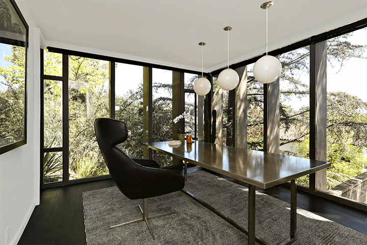 Ed Niles midcentury dwelling for sale in Beachwood Canyon