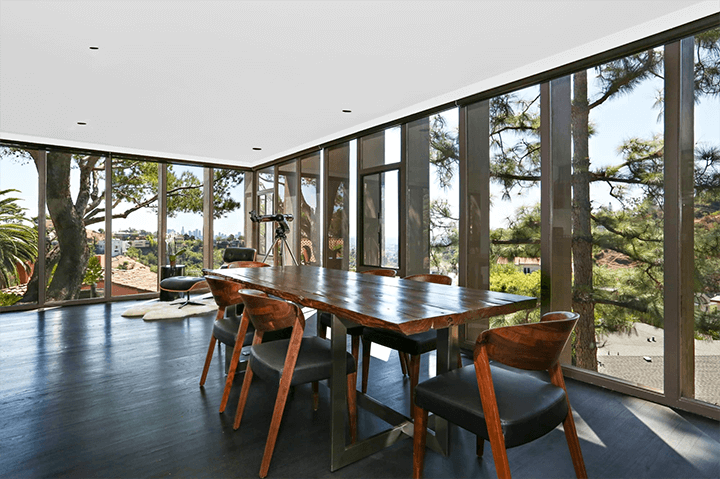 Ed Niles midcentury home for sale in Beachwood Canyon