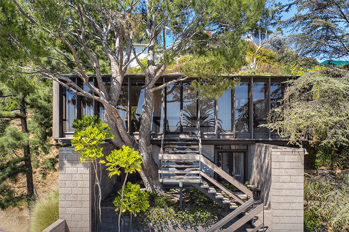 Ed Niles midcentury house in Beachwood Canyon