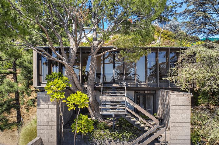 Ed Niles midcentury house in Beachwood Canyon