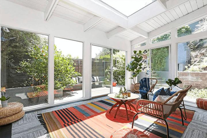 Midcentury house designed by Eugene Kinn Choy