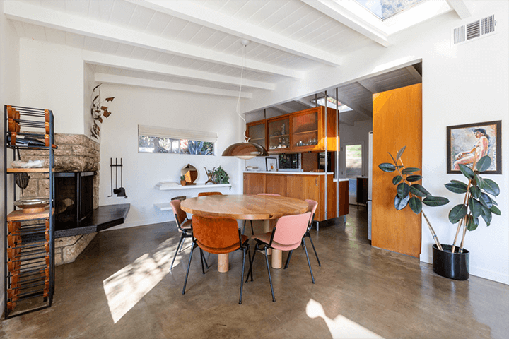 Mid-century home for sale in Highland Park