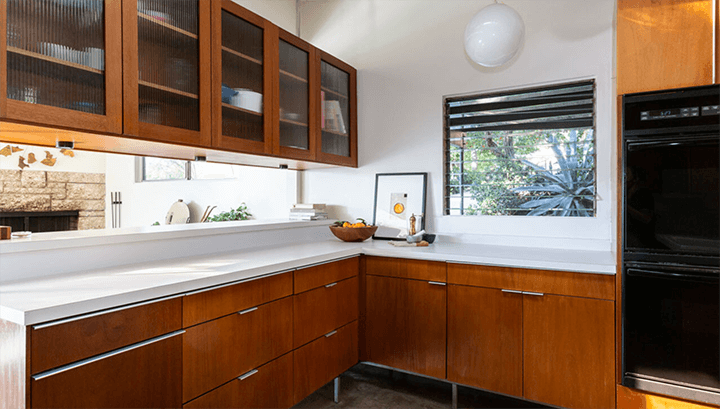 Mid-century house for sale in Highland Park