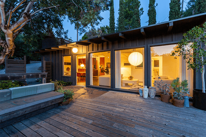 Midcentury house for sale in Highland Park 90042