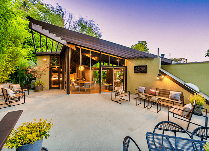 John Lautner's Williams Residence for sale